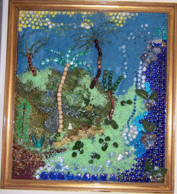 Garden of Eden multimedia fine art