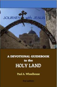 devotional guidebook holyland christian Israel journey Jesus