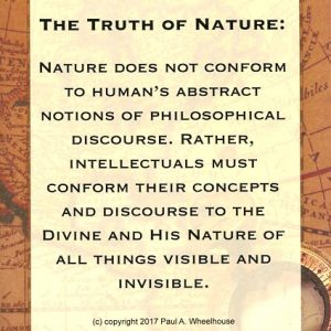 Truth of Nature not confirms to Human Abstracts